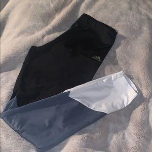 adidas leggings children's size xLwomen's size (s)